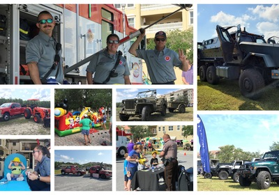 Touch A Truck Day at Venetian Bay